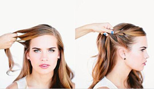 复古新娘发型盘发步骤 给你不一样的美
