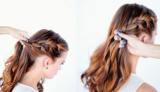 > 复古新娘发型盘发步骤 给你不一样的美图片