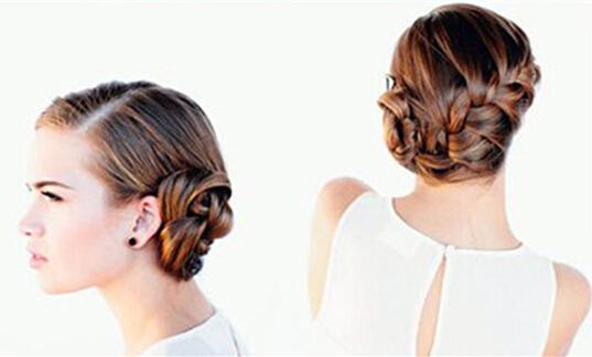 下面就来看看小编为大家推荐的复古新娘发型盘发步骤吧.