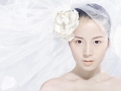 七款无暇裸色的纯美新娘造型