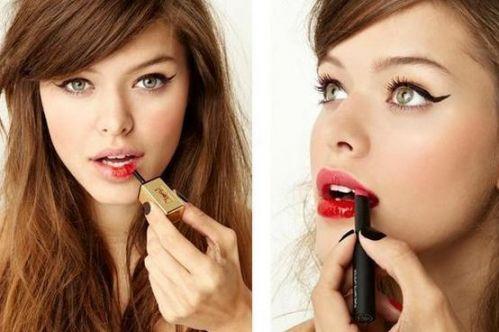 怎样画出青春洋溢红唇妆?