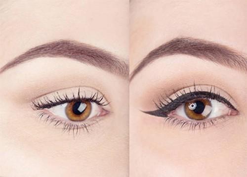 如何用眼线液化出精致眼妆