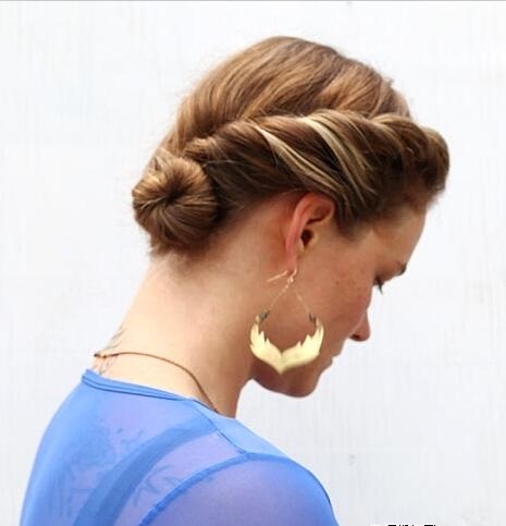 气质新娘编发发型