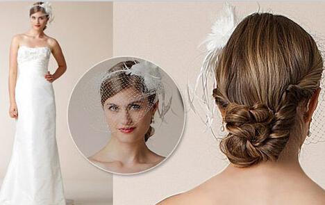 抹胸婚纱配什么发型 适合抹胸婚纱的新娘发型