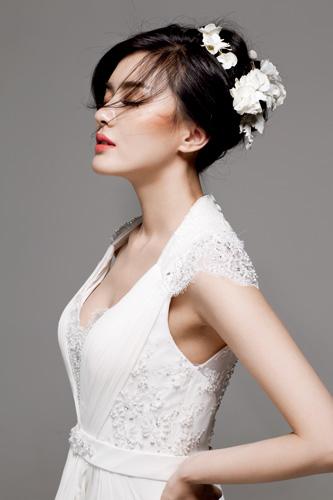 很新显瘦的新娘发型推荐 让你更加魅力十足