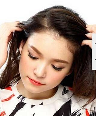 化妆学校分享 人气超高的简约清纯发型