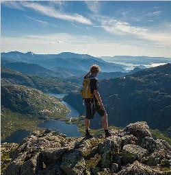 山岳摄影技巧 六个基本构图方法