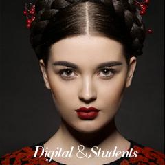 黑光教育数码学员作品——妆容