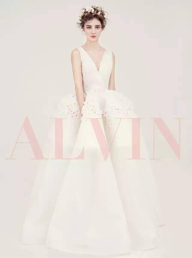 气质优雅新娘造型欣赏