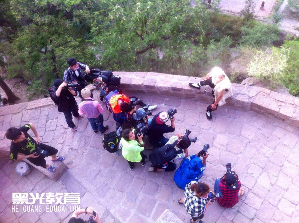 北京黑光教育摄影学校——采风花絮