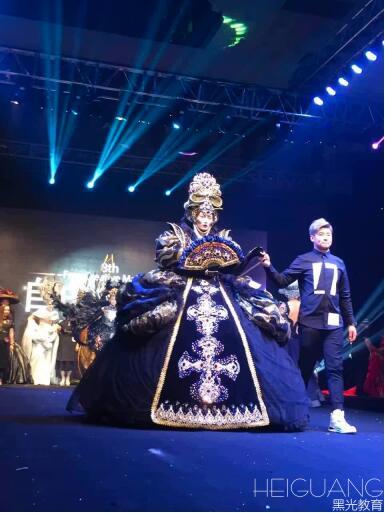 第八届中国摄影化妆造型师大赛-姜洋老师携作品亮相舞台