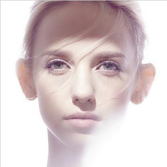 PS利用滤镜快速制作3D凸出人像效果