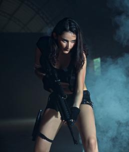 商业摄影师专修班 李人杰毕业作品《影 猎》